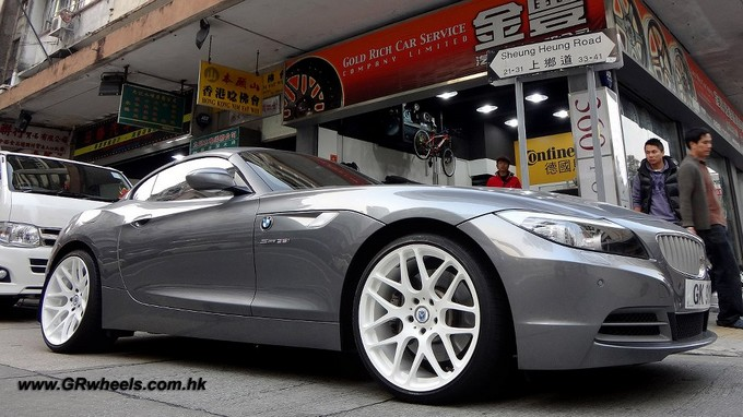 BMW Z4,morr,wheels,grwheels