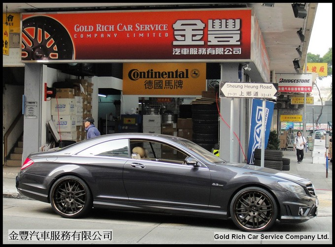 M.Benz CL63,michelin ps2,wheel,grwheels