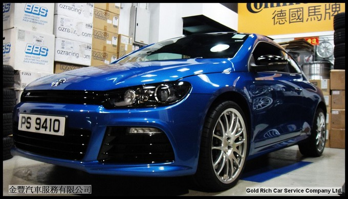 VW Scirocco R,wheel,grwheels