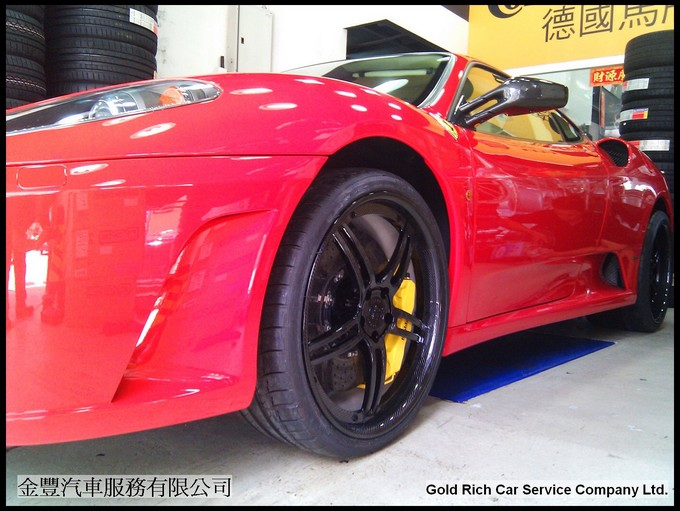 360 Forged CF Spec5 Full Carbon Ferrari F430 20 inch Michelin PS2,wheel,grwheels