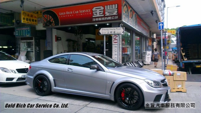 M.Benz C63 Black Series,wheel,grwheels