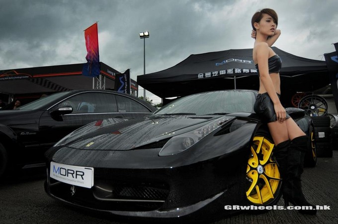 Ferrari F458,Vivian Law,wheel,grwheels